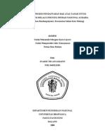 Pelaksanaan Proses Pendaftaran Hak Atas Tanah Untuk Kepastian Hukum Melalui Proyek Operasi Nasional Agraria Studi Di Kelurahan Bandungrejosari, Kecamatan Sukun Kota Malang