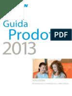 Guida Prodotti 2013