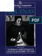 Cambridge companion to Aquinas