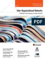 POPP ET AL 2014 Inter-Organizational Networks- A Review of the Literature to Inform Practice