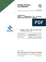 NTC_1420_CALIBRACION DE MANOMETROS.pdf