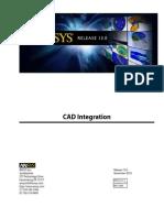 Ansys CAD Integration.pdf