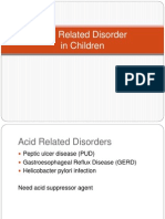 Acid Related Disorder