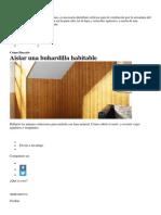 Aislar el Techo.docx