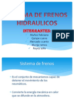 SISTEMA DE FRENOS HIDRAULICOS GRUPO 3.pptx