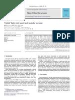 'Hybrid' Light Steel Panel and Modular Systems