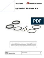 Two-Way Swivel Redress Kit Assembly Instructions