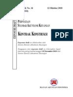 ED PSAK 34 (Revisi 2010) Kontrak Kontruksi