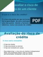 Como avaliar o risco de crédito de um_correcção