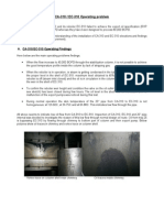 CA-310 & EC-310 Operating problem + Inspection