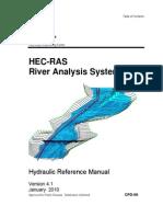 Manual de referencia hidráulico de HEC-RAS 4.1