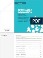 eBook Actionable Innovation Toolkit
