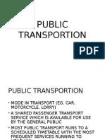 Public Transportion