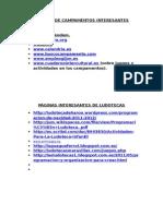 PÁGINAS DE CAMPAMENTOS INTERESANTES y ludotecas.doc