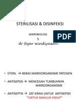 5 STERILISASI & DISINFEKTAN.ppt