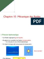 10.mecanique des fluides