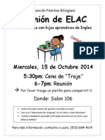 ELAC Flyer Oct 15 2014