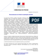 Communique de presse CATNAT  inondations septembre 2014 (1).doc