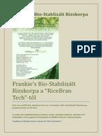 frankies bio-stabilizlt rizskorpa teljes lers