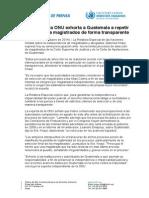 2014-10-07_guatemala Selection_sr Indep Judiciary