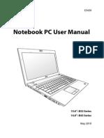 Asus B53 and B43 Manual - English