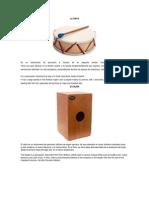 instrumentos musicales en ingles y español.docx