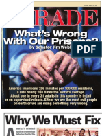 """PARADE Magazine cover story, """"What's Wrong with our Prisons?"""" Senator Jim Webb, Sunday March 29, 2009"""