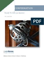 Defence & Confirmation Vol. 1 April 2014