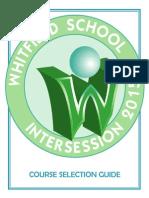 2015 Intersession Course Guide