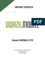 Uwazii Mobile
