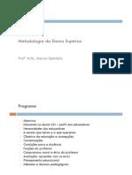 Resumo Da Didatica e Metodologia Do Ensino Superior