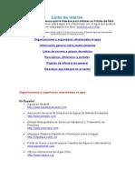 Links de interés AGUA AGUA AGUA.doc