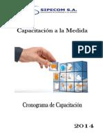 Sipecom S.A_Cronograma_2014.pdf