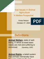 Ethics in Animal Ag