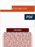 Presentasi Diabetes Melitus Ayu Wening g99141037