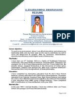 PBA Political Resume