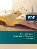 Research Guide for Jehovah's Witnesses