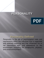 Personality 1