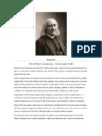 Biografía de Franz Liszt