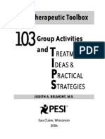 Look-Inside-103-Tips 103 Group Activities and Treatment Ideas Practical Strategies the Therapeutic Toolbox