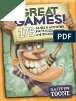 Great Games- 175 Games Activities for Families Groups Children_B009NNKZ3W