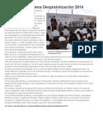 08-10-2014 Inicia SSP y Sedena Despistolización 2014.
