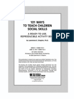 101 Ways to Teach Social Skills