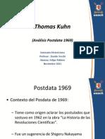 analisispost-data-thomaskuhn-1967-120129183816-phpapp02.ppt