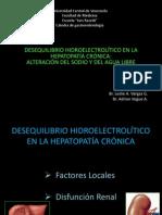 Expo 02 - Desequilibrio Hidroelectrolítico en Hepatopatía Crónica