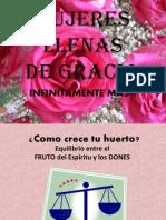 MUJERES  LLENAS de GRACIA.pptx