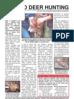 Carted deerhunting Factsheet