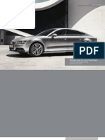 Audi A7 and S7 Sportback (UK)