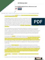Ce que pense la Cour fédérale Américaine de notre système judiciaire.pdf