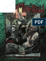 Time of Thin Blood